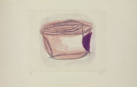 Etching Fautrier - La boîte