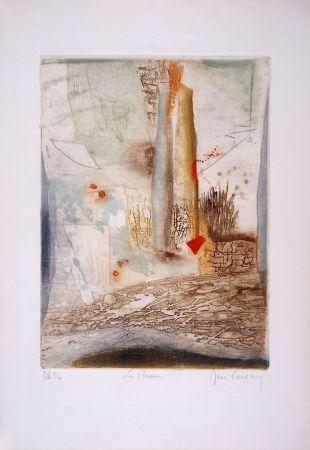 Etching And Aquatint Carcan - La brume
