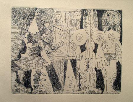 Etching Picasso - La Célestine
