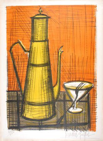 Lithograph Buffet - La Cafetière
