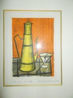 Lithograph Buffet - La cafetiere