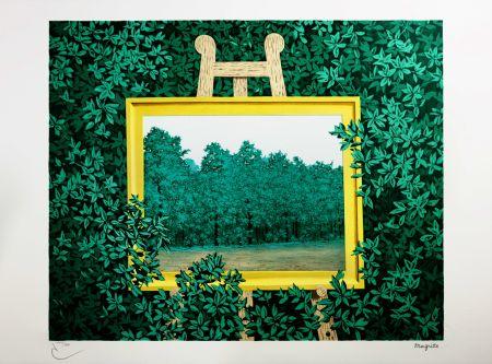 Lithograph Magritte - La Cascade