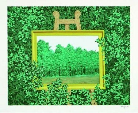 Lithograph Magritte - La Cascade, 1961