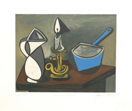 Woodcut Picasso - La Casserole Emaillee