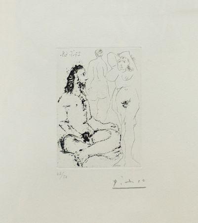 Etching Picasso - LA CELESTINE PLATE 25