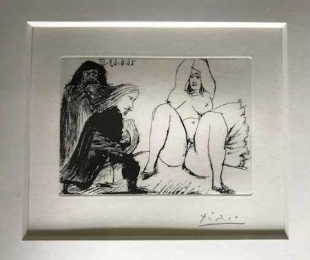 No Technical Picasso -  La Celestine, sa protegee, et un jeune gentilhomme