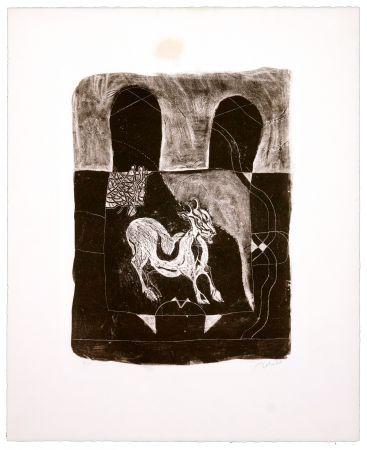 Lithograph Toledo - La Chèvre