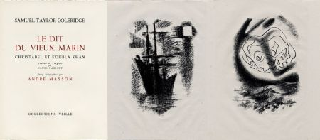 Illustrated Book Masson - LA CHANSON DU VIEUX MARIN.24 lithographies originales.