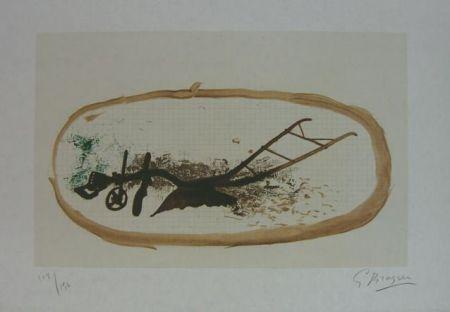 Lithograph Braque - La Charrue (el arado)