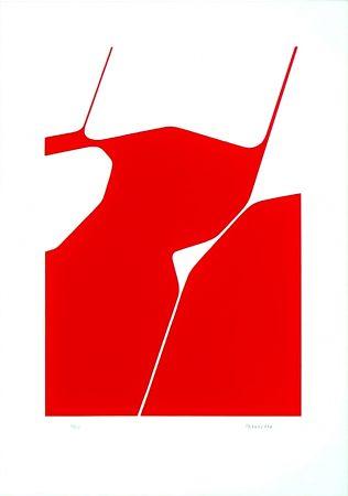 Lithograph Palazuelo - La Chaux de Fonds