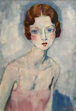 Pochoir Van Dongen - La Chemise Rose