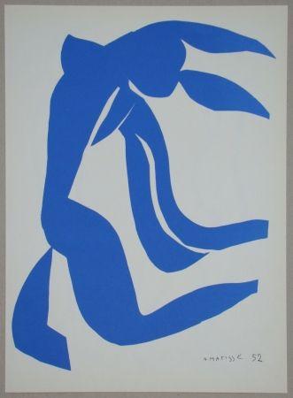 Lithograph Matisse - La Chevelure