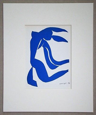 Lithograph Matisse - La chevelure - 1952