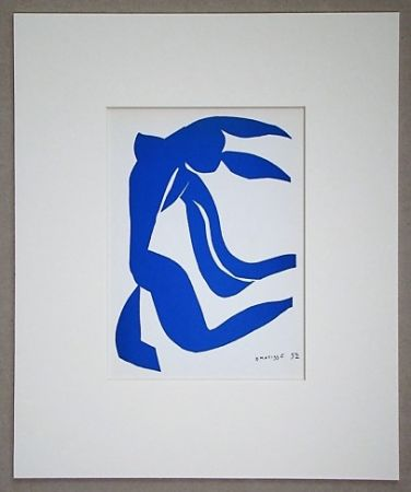 Lithograph Matisse (After) - La chevelure - 1952