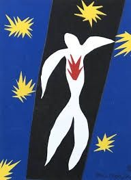 Lithograph Matisse - La chute d'Icare