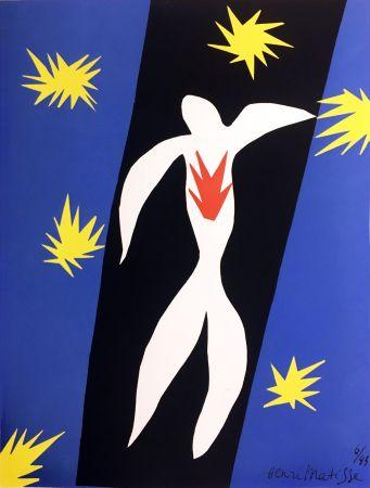 Lithograph Matisse - LA CHUTE D'ICARE (Pour la revue Verve n°13, 1945)