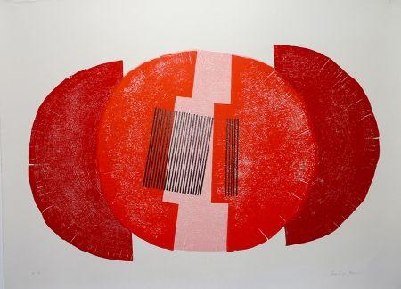 Woodcut Rhee - La Cité De Décembre 73