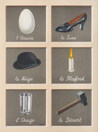 Lithograph Magritte - La Clé des Songes