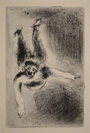 Etching Chagall - La Colère II / Der Zorn II