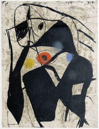 Etching Miró - La Commedia dell´ arte II