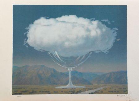 Lithograph Magritte - La Corde Sensible