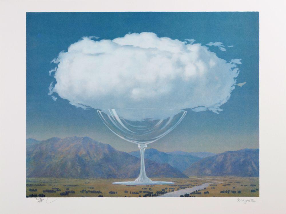 Lithograph Magritte - La Corde Sensible (Heartstring)