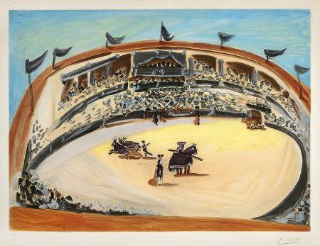 Aquatint Picasso - La Corrida (The Bullfight)