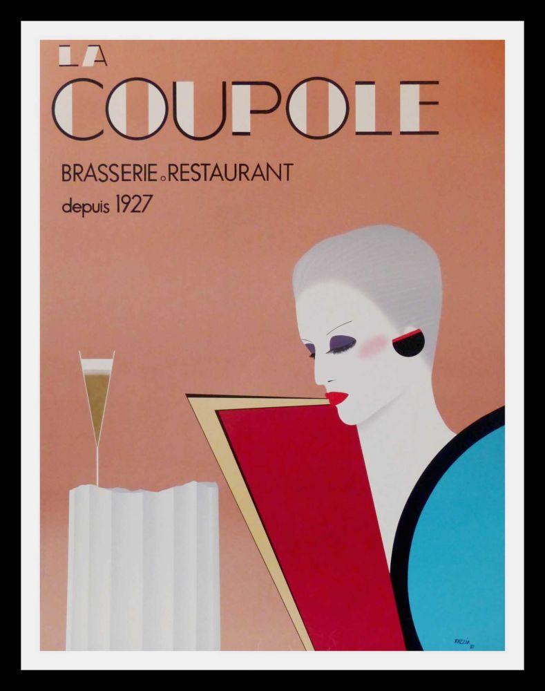 Poster Razzia - LA COUPOLE BRASSERIE RESTAURANT DEPUIS 1927
