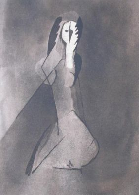 Etching And Aquatint Villon - La Dame Espagnole
