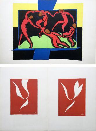 Lithograph Matisse - LA DANSE (D'après le célèbre tableau d' Henri Matisse)