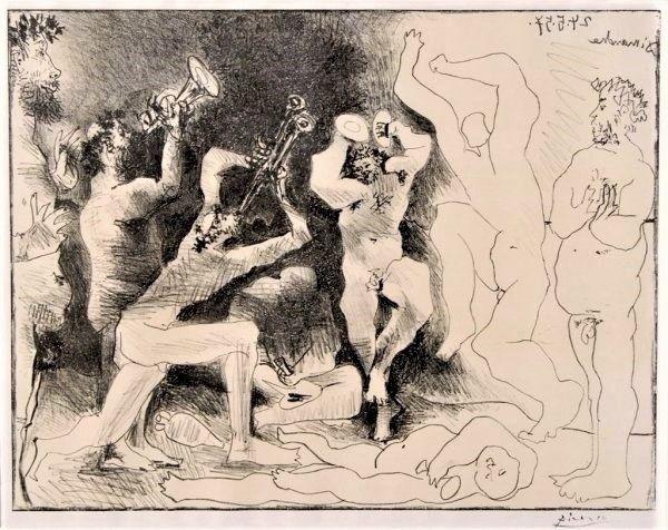 Lithograph Picasso - La Danse des Faunes