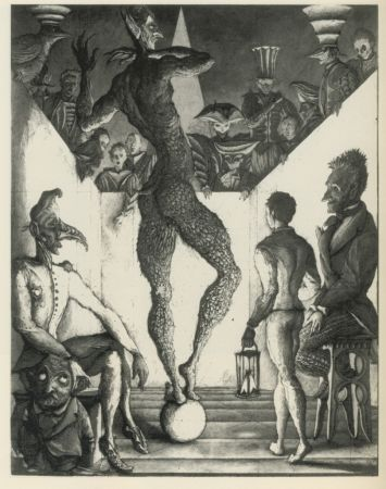 Etching And Aquatint Desmazières - La Danse du Diable