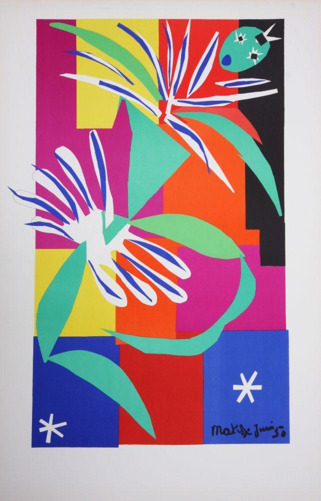 Lithograph Matisse - La Danseuse Creole
