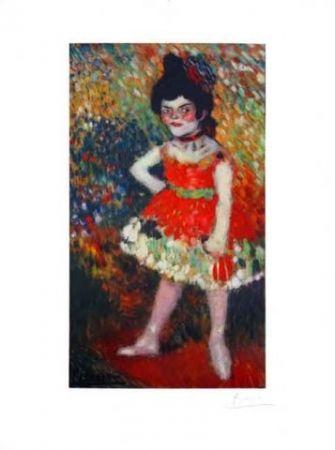 Lithograph Picasso - La Danseuse Naine