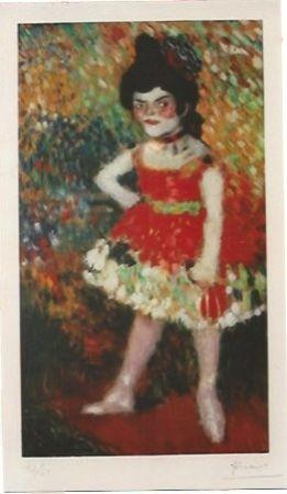 Lithograph Picasso - La Danseuse Naine (La anana)
