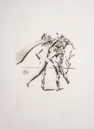 Lithograph Dali - La Danza