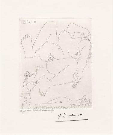 Etching Picasso - La Demesure du Peintre