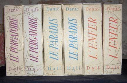 Illustrated Book Dali - LA DIVINE COMEDIE