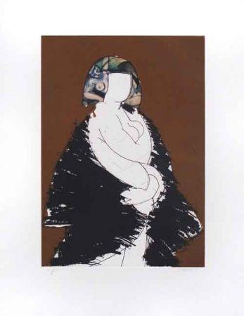 Etching And Aquatint Valdés - La Donna Italiana