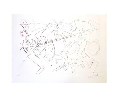 Lithograph Dali - La Douloureuse Garde