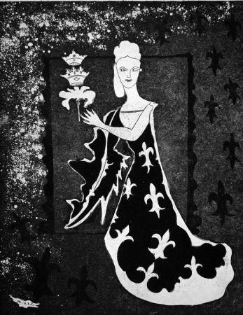 Engraving Haz - La duchessa di Guermantes