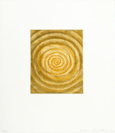 Etching And Aquatint Santibañez - La espiral caprichosa