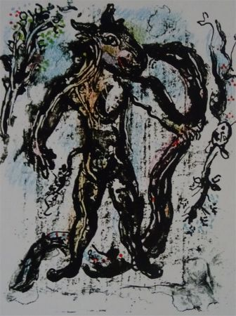 Lithograph Chagall - La Feerie et le Royaume, planche 2