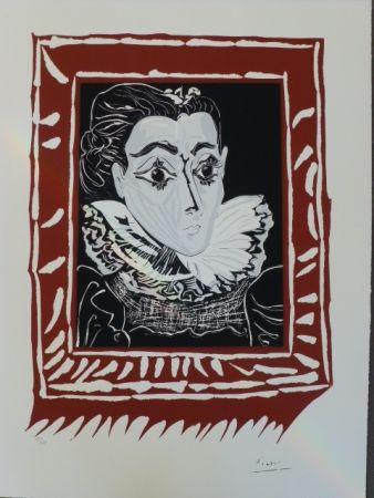 Lithograph Picasso - La Femme À La Fraise