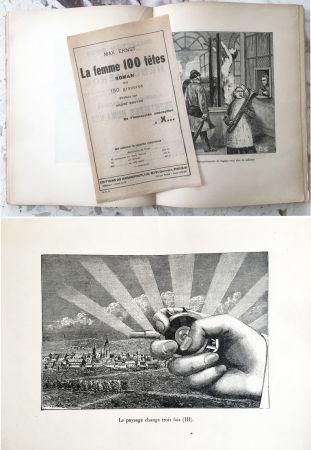 Illustrated Book Ernst - LA FEMME 100 TÊTES. Paris, 1929