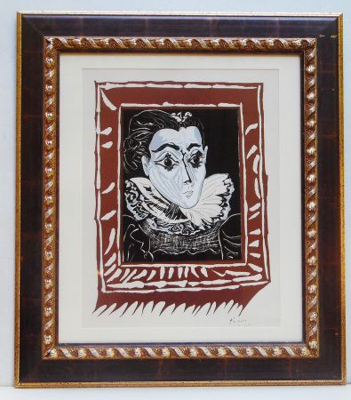 Lithograph Picasso - La Femme A La Fraise