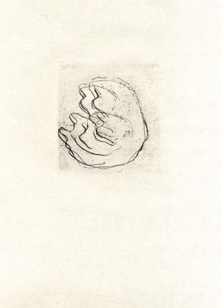 Engraving Fautrier - La femmes aux seins