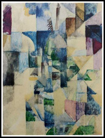 Pochoir Delaunay - LA FENETRE N°2