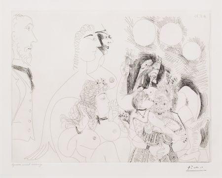 Etching Picasso - La Fete de la Patronne