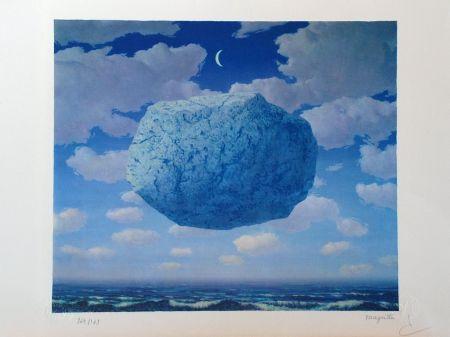Lithograph Magritte - La Flèche de Zénon